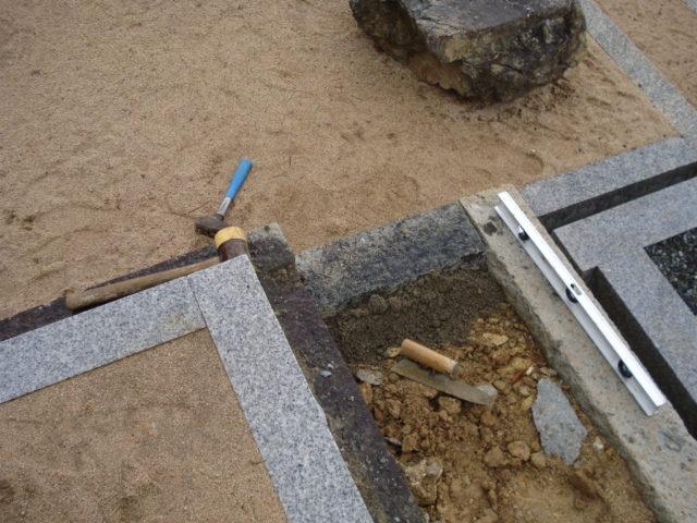 ④ 巻石の修理