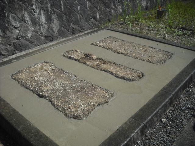 ④ コンクリートの打設