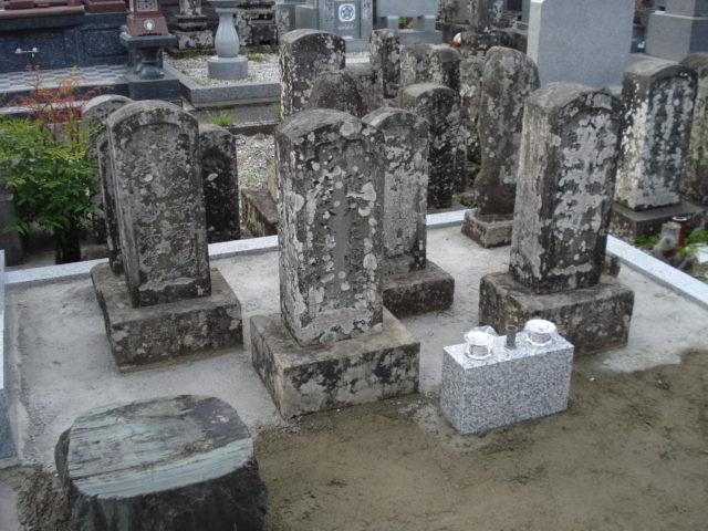 ⑦ 古墓の設置